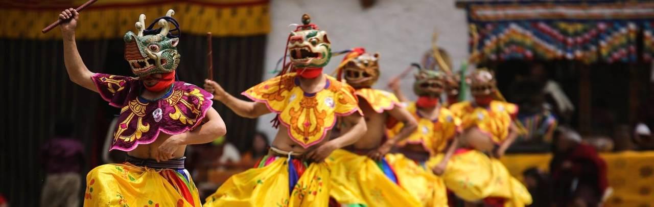 bhutan_masked_dancer_from_bhutan_yellow_h2