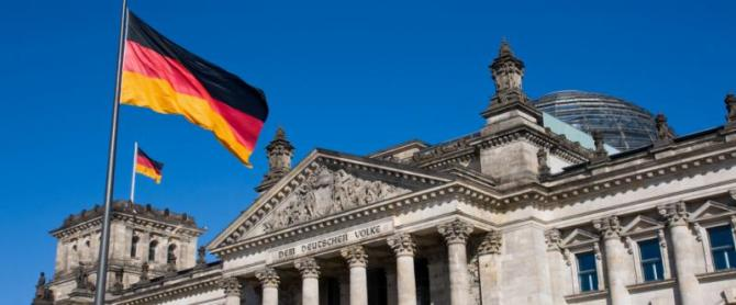 Germany-Berlin-Riechstag-with-Flags-LT-Header