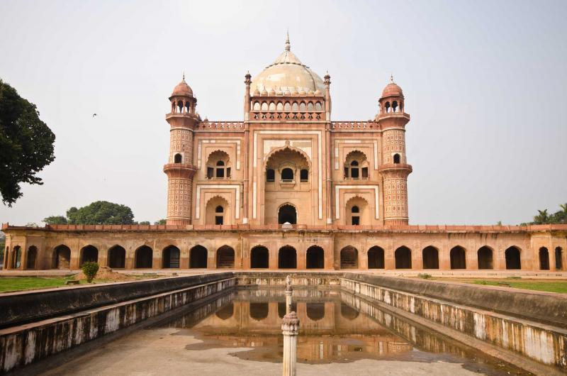 india_safdarjungs_tomb_is_a_sandstone_and_marble_mausoleum_in_delhi