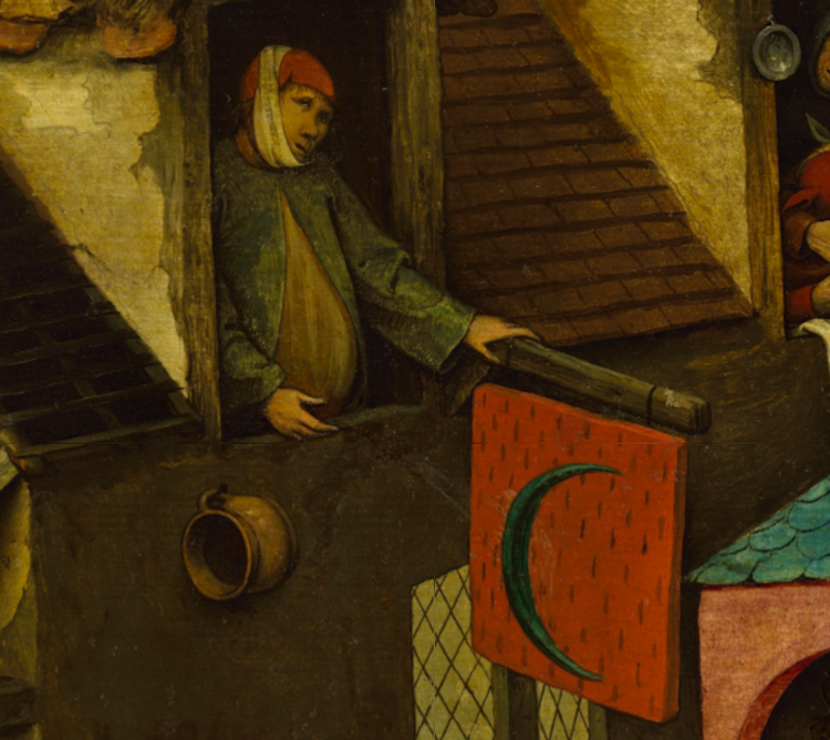 Pieter-Bruegel-Netherlandish-Tales-Dutch-Proverbs-detail-22