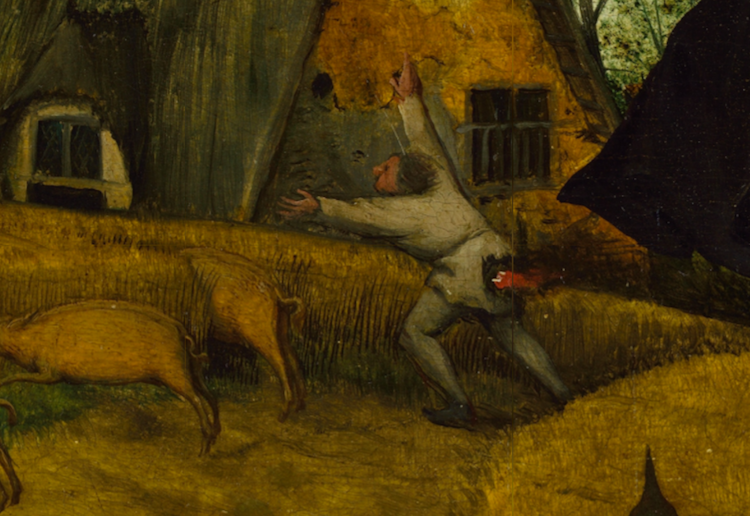 Pieter-Bruegel-Netherlandish-Tales-Dutch-Proverbs-detail-24