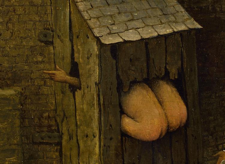 Pieter-Bruegel-Netherlandish-Tales-Dutch-Proverbs-detail-35