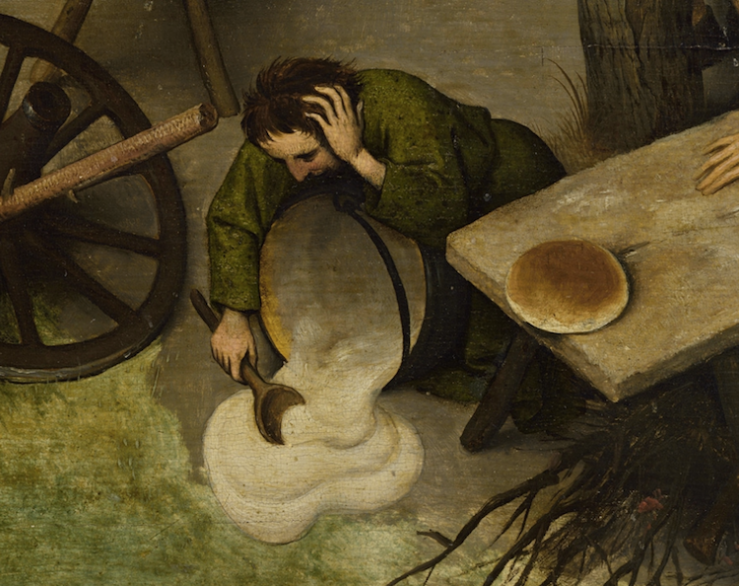 Pieter-Bruegel-Netherlandish-Tales-Dutch-Proverbs-detail-39
