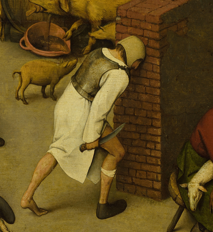 Pieter-Bruegel-Netherlandish-Tales-Dutch-Proverbs-detail-6