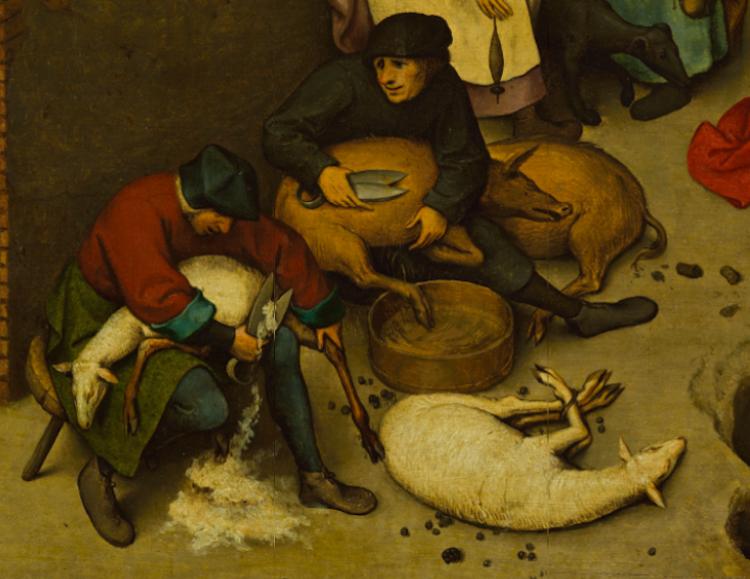 Pieter-Bruegel-Netherlandish-Tales-Dutch-Proverbs-detail-9