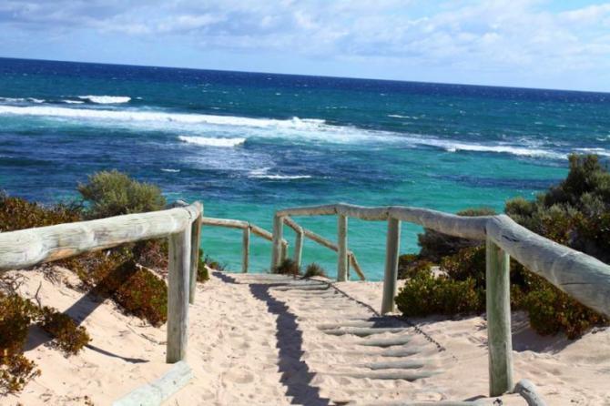 australiaperthtourwalkwaytobeachrottnestisland